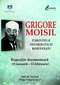 Afis - Grigore Moisil