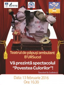 Afiş Teatru Povestea Culorilor 1