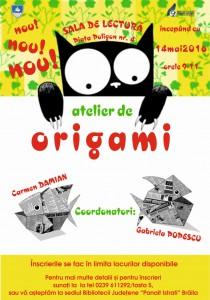 origami afis