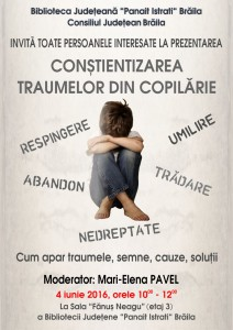 Afis - Traume copilarie