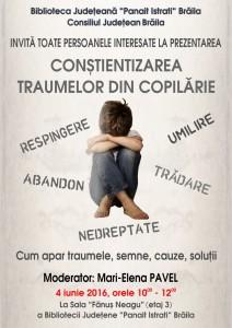 Afis - Traume copilarie