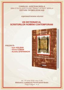 dictionarul scriitorilor romani